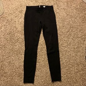 J Crew high waisted black leggings